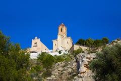 Cullera Nuestra Senora Encarnacion sanctuary. In Valencia of Spain Royalty Free Stock Photos