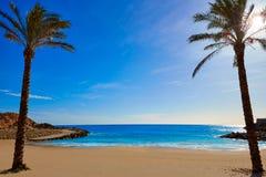 Cullera Platja del Far beach Playa del Faro Valencia Stock Images