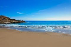 Cullera Platja del Far beach Playa del Faro Valencia Stock Photos
