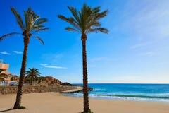 Cullera Platja del Far beach Playa del Faro Valencia Royalty Free Stock Photography