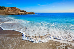 Cullera Platja del Far beach Playa del Faro Valencia Stock Photography