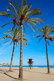 Cullera Sant Antoni beach San Antonio in Valencia Royalty Free Stock Photos