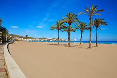 Cullera Sant Antoni beach San Antonio in Valencia Royalty Free Stock Photo