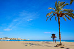 Cullera Sant Antoni beach San Antonio in Valencia Stock Images