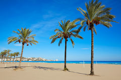 Cullera Sant Antoni beach San Antonio in Valencia Royalty Free Stock Photography