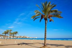 Cullera Sant Antoni beach San Antonio in Valencia Stock Photos