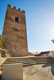 Cullera Torre de la Reina Mora tower in Valencia Royalty Free Stock Image
