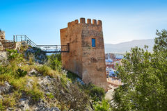Cullera Torre de la Reina Mora tower in Valencia Royalty Free Stock Photos