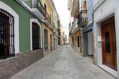 Cullera Valencia Spanje Royalty-vrije Stock Foto's