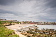 Cullercoats Harbour Royalty Free Stock Images