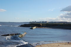 Cullercoatsharbour5 Royalty Free Stock Photography