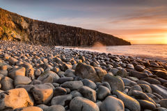 Cullernose Point in early morning Stock Images