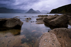 The Cullins from Elgol Stock Images