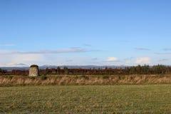 Culloden停泊纪念石标 图库摄影