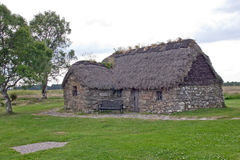 Culloden,老Leanach村庄 免版税图库摄影