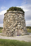 Culloden amarra el monumento en Escocia Fotografía de archivo