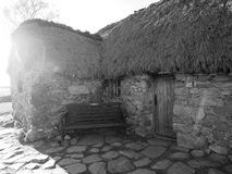 Culloden Battlefield Cottage Stock Images