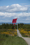 Culloden Battlefield - Government Line Stock Images