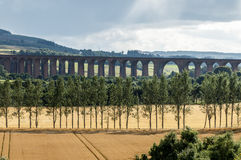 CULLODEN, INVERNESS/SCOTLAND - AUGUST 28 : Culloden Viaduct nea royalty free stock images