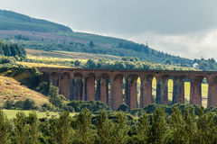 CULLODEN, INVERNESS/SCOTLAND - AUGUST 28 : Culloden Viaduct nea royalty free stock photos