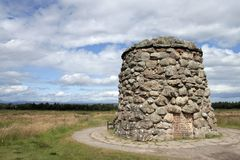 Culloden monument Stock Photos