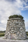 Culloden Moor Monument in Scotland. Monument at the Battlefield site on Culloden Moor in Scotland Stock Photography