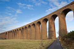 Culloden Viaduct and single track road Stock Photos