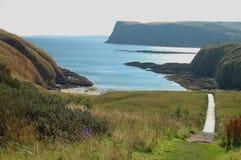 Cullykhan海湾,苏格兰 库存图片
