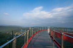 Culminación del este de OCT Shenzhen Meisha de un puente en forma de 'U' foto de archivo