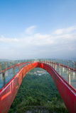Culminación del este de OCT Shenzhen Meisha de un puente en forma de 'U' fotografía de archivo