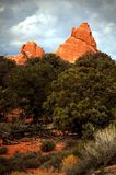 Culmine del deserto Fotografie Stock