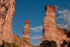 Culmini della roccia Fotografia Stock