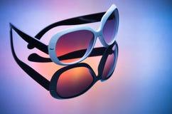 Óculos de sol da forma Imagem de Stock Royalty Free