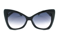 Óculos de sol pretos Fotografia de Stock Royalty Free