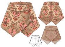 Culotte-jupe Photographie stock libre de droits