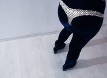 Culottes et guêtres sexy Photo stock