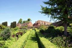 Culpeper trädgård av Leeds Castle i Maidstone, Kent, England Arkivfoto