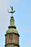 Culpture of St. George, Gdansk, Poland Stock Image