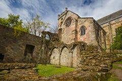 Culross修道院废墟  免版税库存照片