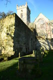 Culross修道院 免版税图库摄影
