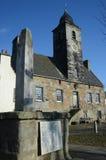 Culross城内住宅 库存照片