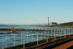 Culross海岸 库存图片