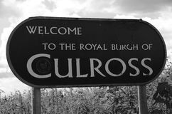 Culross Obraz Royalty Free