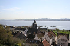 Culross, fifre Images stock