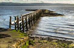 Culross Pier Scotland Royalty Free Stock Image