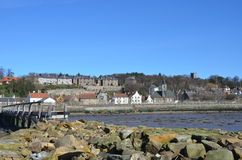 Culross sHORE Royalty Free Stock Image