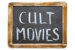 Cult movies fr Royalty Free Stock Images