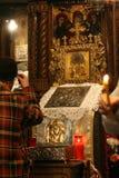 Culte d'église Images stock