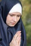 Culte pour la paix Photo stock
