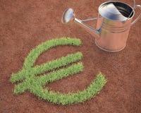 Cultivación de euro libre illustration